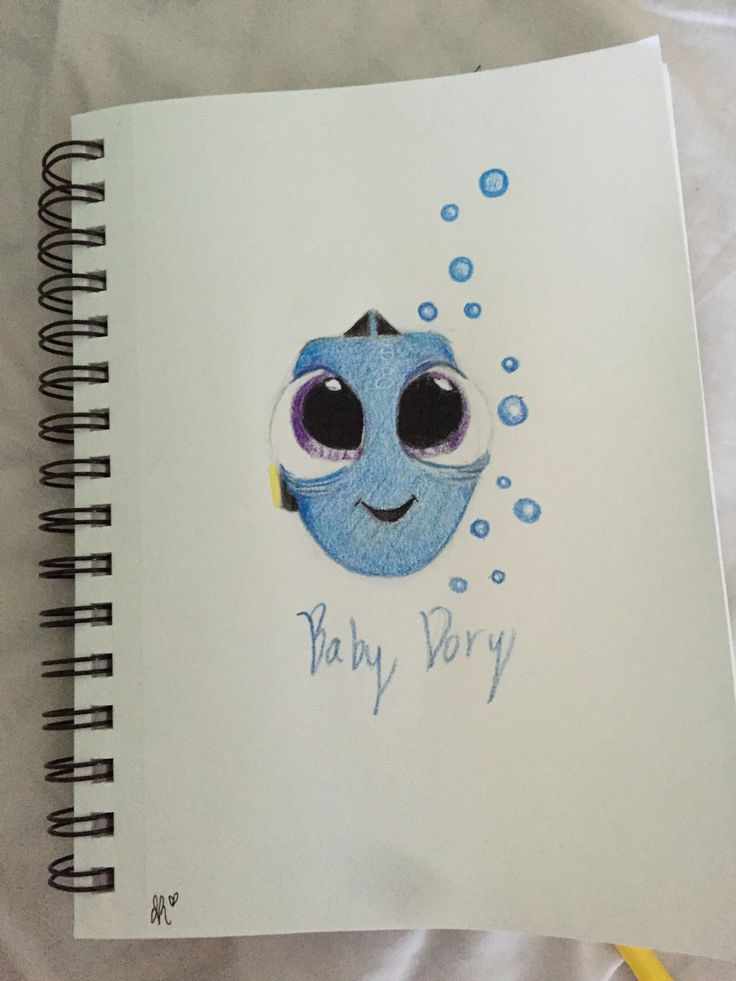 Baby dory drawing