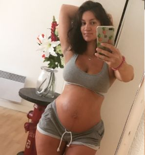 Few months ago, stripper Sophie Brussaux claimed she was pregnant with rapper Drake's child. She has now given birth to a boy on the s...