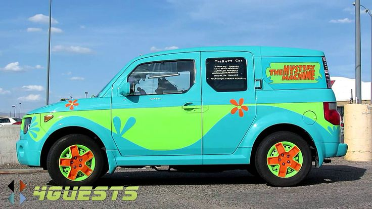 Mystery Machine Honda Element