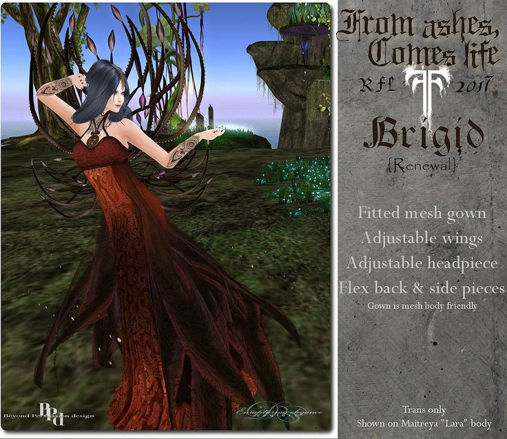 https://flic.kr/p/SFzeU6 | EEc RFL From ashes, Comes life Brigid
