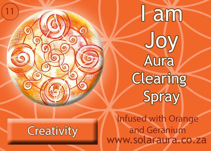 11- aura clearing spray creativity