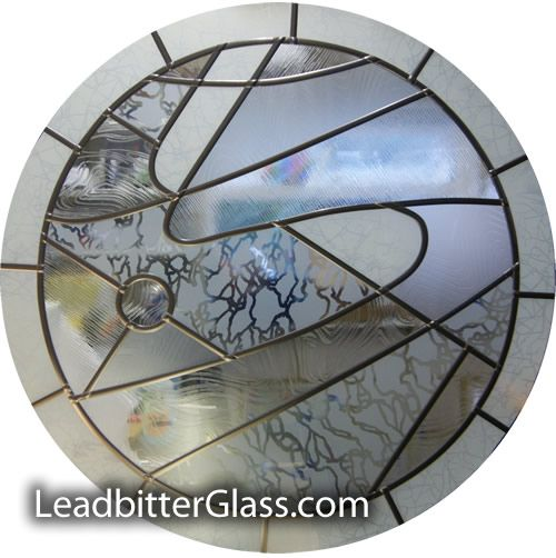Contemporary Round Window Glass