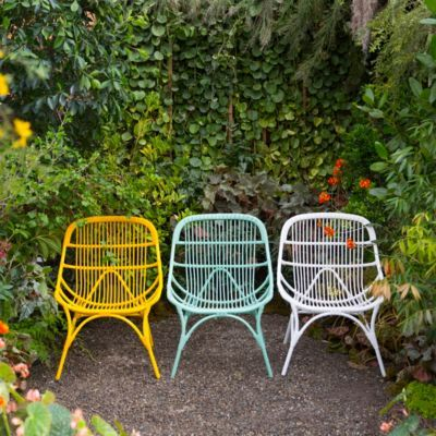 all weather garden chair accent for bedroom open weave wicker side wishlist outdoor pinterest best furniture and
