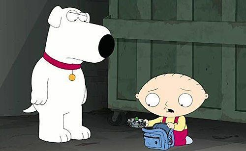"""Brian Griffin, Arguably the Smartest Member of the 'Family Guy' Family, Dies at 8- http://getmybuzzup.com/wp-content/uploads/2013/11/rip-brian.jpg- http://getmybuzzup.com/brian-griffin-arguably-the-smartest-member-of-the-family-guy-family-dies-at-8/-  'Family Guy' Member DogBrian Griffin Dies at 8 ByAmber B Brian Griffin, a white Labrador who had lived with the Griffins on """"Family Guy"""" for 11 years, died on Sunday in front of the Griffin home on Sp"""