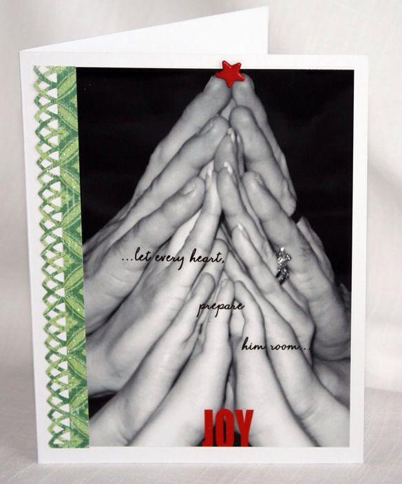 Christmas card idea cute