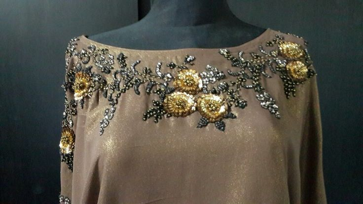 Sequinned tunic