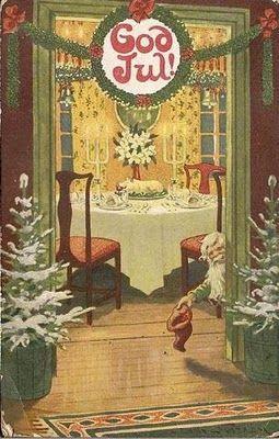 God Jul. Tomte. Jenny Nyström