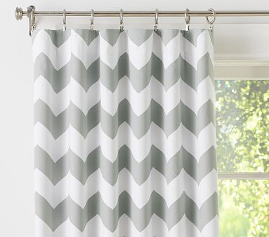 Chevron Blackout Panel #PotteryBarnKids