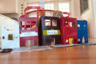 cereal box city: Crafts For Kids, Boxes Cities, Crafts Ideas, Cereal Box Crafts, Kids Stuff, Cereal Boxes Crafts, Matchbox Cars, Pots Pies Cupcakes, Fun Kids Crafts