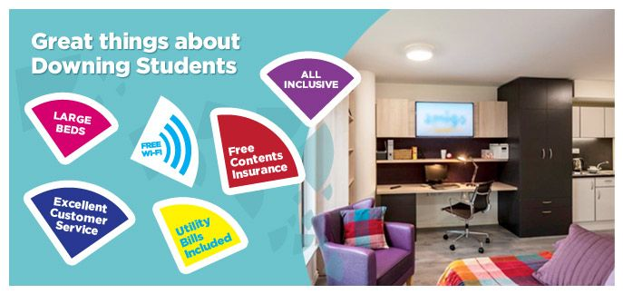 At Downing Students, we offer a range of high end student accommodation in London, Newcastle, Cambridge and Leeds. Apply online now!
