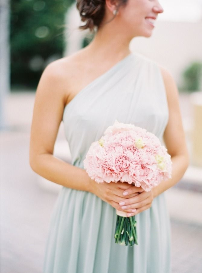 Mint and blush hues: http://www.stylemepretty.com/florida-weddings/safety-harbor-florida/2015/07/31/elegant-pastel-safety-harbor-spa-wedding/ | Photography: Jacqui Cole - http://jacquicole.com/