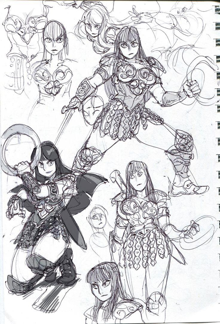 Xena warrior princess coloring pages - Xena Warrior Princess Kittycatkissurebloggedcubesona