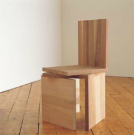 An Oldie But a Goodie: Rolf Sachs 3 Equal Parts Chair