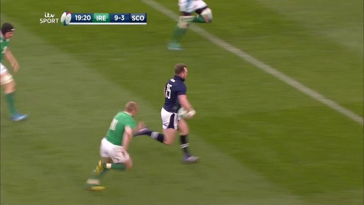 [Rugby] Stuart Hogg scores absolute scorcher for Scotland against Ireland http://ift.tt/22vQ2pm Love #sport follow #sports on @cutephonecases