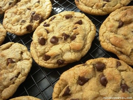 Receta de cookies de chocolate y nueces