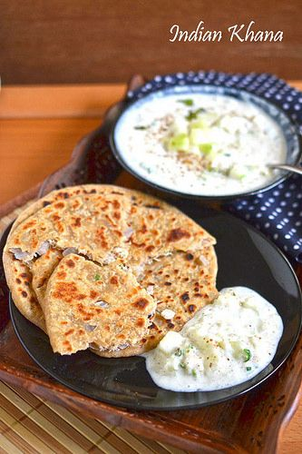 Mooli paratha or radish stuffed flat breads are popular Punjabi dish makes great breakfast, lunch, dinner or lunch box.