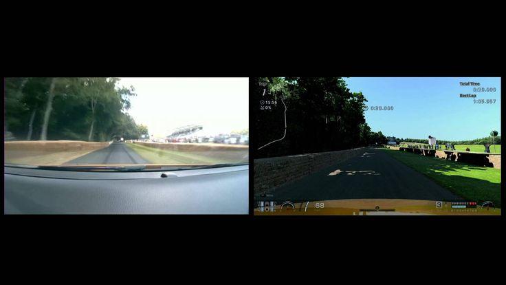 Focus ST versus Gran Turismo 6 at Goodwood - practice run uncut