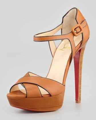 Christian Louboutin #shoes #heels #pumps sporting buckle #sandals
