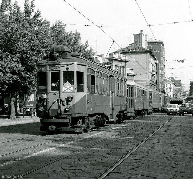 Milano, Piazzale Carlo Machiachini, 1978