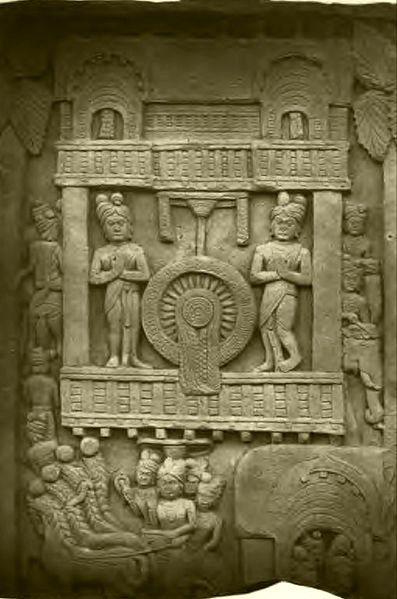 Preaching to King Pasenadi (Barhut)