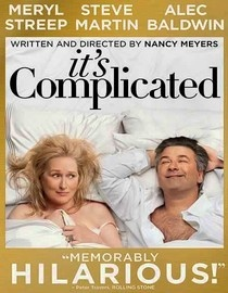 """It's Complicated"" romantic comedy. The couple is divorced. Both have moved on. But those old feelings come  back.  Meryl Streep and Alec Baldwin are pros. They make fun of their own ages and aging bodies.  John Krasinski plays a comical yet insightful son-in-law, and he's a scene stealer!  Wait... edit that... they're ALL scene stealers ...SoniaSophia"