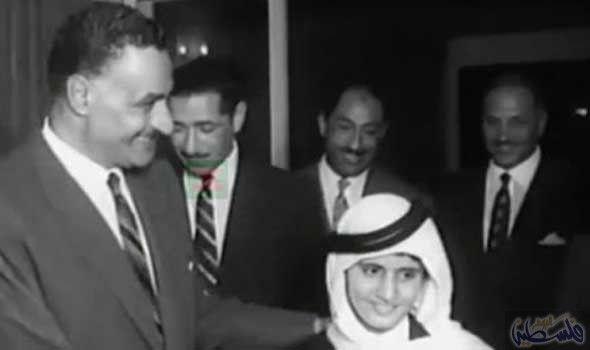 محمد بن راشد ينشر صورة نادرة من طفولته مع الرئيس جمال عبد ...