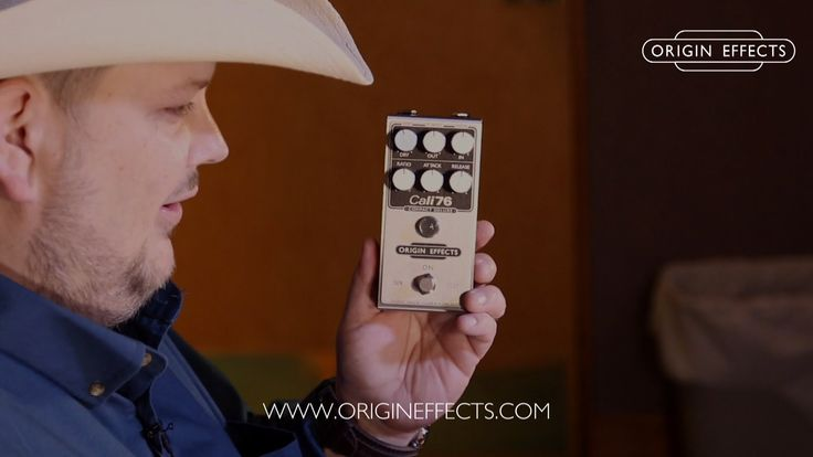 Origin Effects Cali76 Compact Deluxe demo by Johnny Hiland
