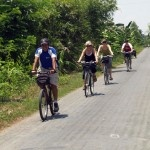 Cycle the Mekong Delta in South Vietnam - roads are flat & quiet and your travel with a support vehicle.