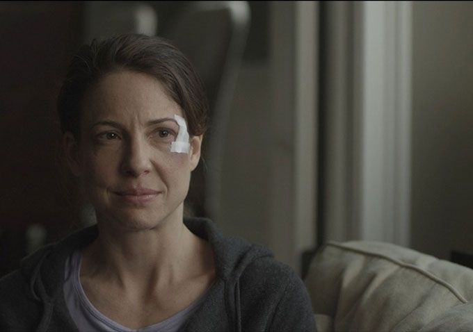 Robin Weigert in Concussion.