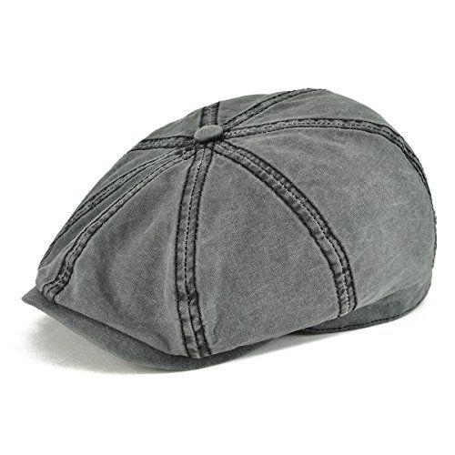 226516dd48125  11.90 -  14.99 VOBOOM 100% Washing Cotton Newsboy Caps Classic 8 Pannel  Retro Cabbie Hat