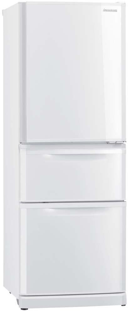 Mitsubishi 375 Litre Multi-Drawer Fridge Freezer White $1599.99 from Noel Leeming