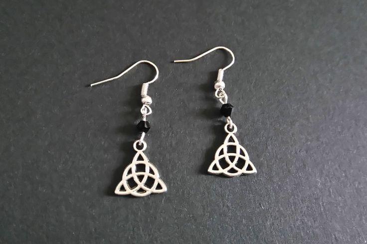 Gothic-Schmuck - Keltische Knoten Ohrringe  - ein Designerstück von Nesherim bei DaWanda