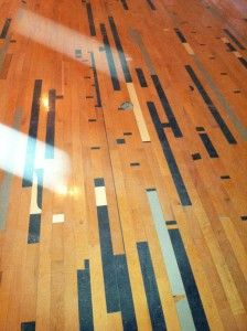 93 best finishes wall panels images on pinterest for Reclaimed gym floor