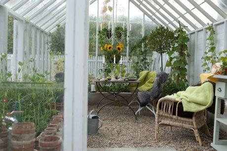 Golv i växthus