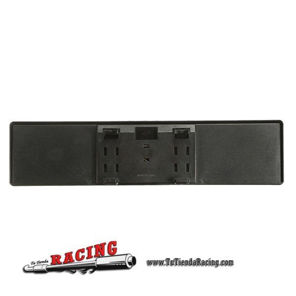 11,08€ - ENVÍO SIEMPRE GRATUITO - Espejo Retrovisor Interior Adicional Convexo para Coche Trailer Color Negro - TUTIENDARACING