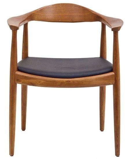 Replica Hans Wegner 'Round' Chair - Walnut