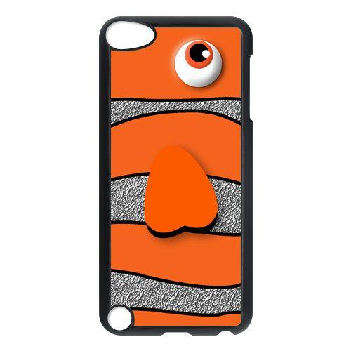 cute disney finding nemo orange fish apple ipod 5 touch case cover, US $16.89
