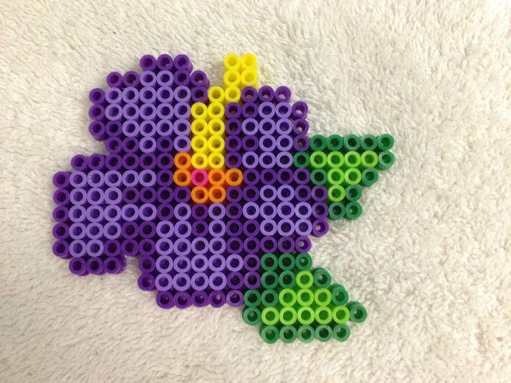 38 best perler bead flowers images on perler