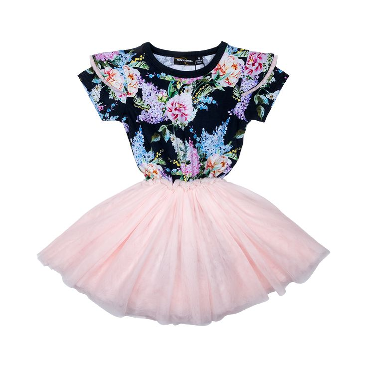 Rock Your Baby - Wisteria Circus Dress