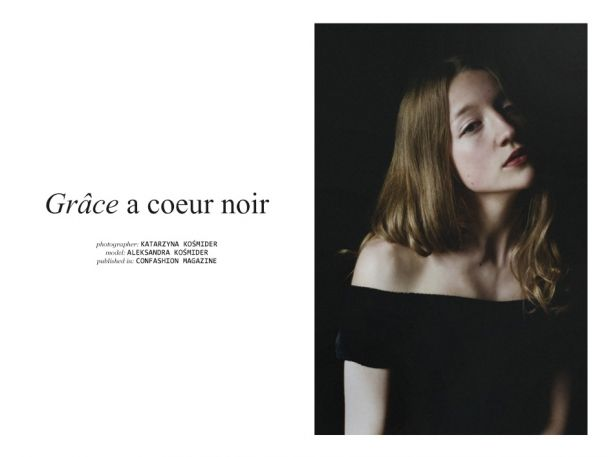 "Katarzyna Kośmider: ""Grâce a coeur noir"" http://www.confashionmag.pl/webitorial/artystyczny-czwartek-grace-a-coeur-noir.html"