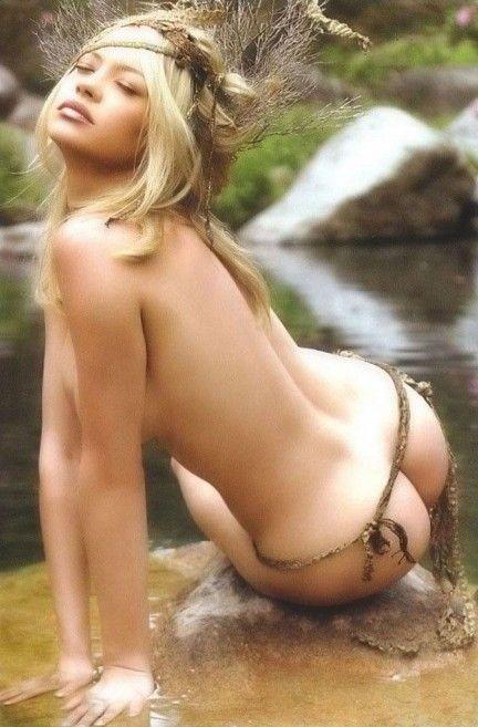 anna falchi sexy nuda