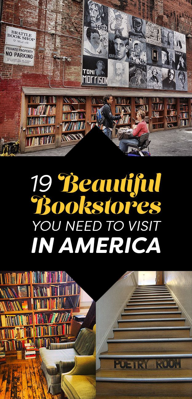 19 Beautiful Bookstores You Need To Visit In America                                                                                                                                                                                 More
