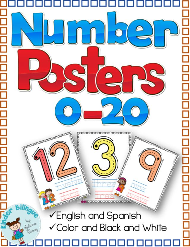 I have a feeling you'll like this one 😍 Bilingual Number Posters http://www.kinderbilingue.com/products/bilingual-number-posters-0-20?utm_campaign=crowdfire&utm_content=crowdfire&utm_medium=social&utm_source=pinterest