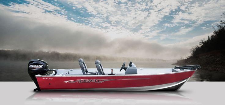 The Lund Fury 1600 aluminum fishing boat combines maximum fishability and affordability.