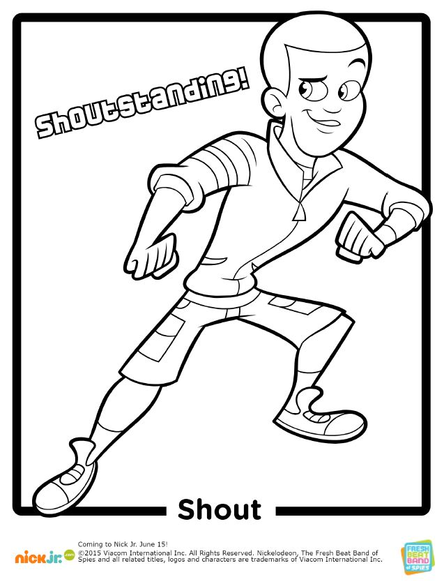 fresh coloring pages - photo#24