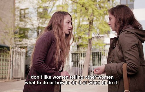 This is why the TV series Girls is my favorite.