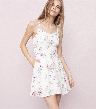 Bustier Fit & Flare Dress
