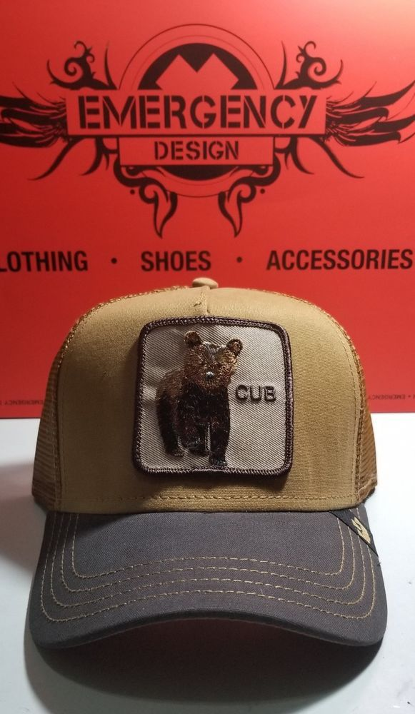 ca4b9ce56b9fa Goorin Bros. Cub Little Bear Trucker Snapback Mesh Hat Dad Cap Animal Farm   fashion  clothing  shoes  accessories  mensaccessories  hats (ebay link)