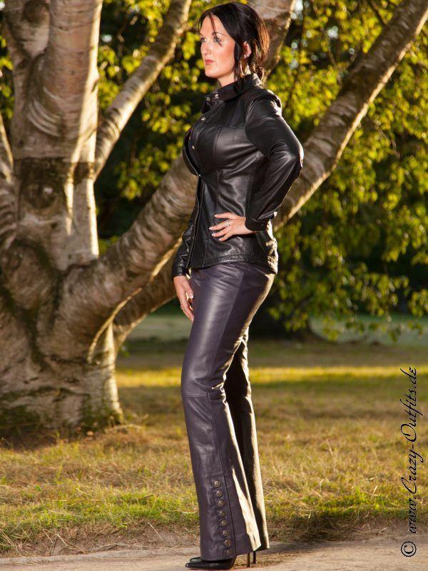 Lederhose DS-408 : Crazy-Outfits - Webshop für Lederbekleidung, Schuhe & mehr.