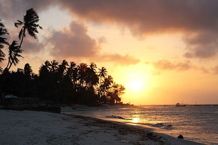Sansibar Sonnenuntergang Nungwi